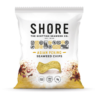 Shore - Asian Peking Seaweed Chips - 80g