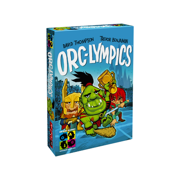 Orc-lympics - A Fun Game of Tactics and Decision Making