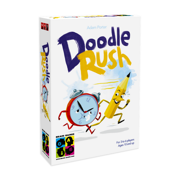 Doodle Rush - Party Drawing and Guessing Game