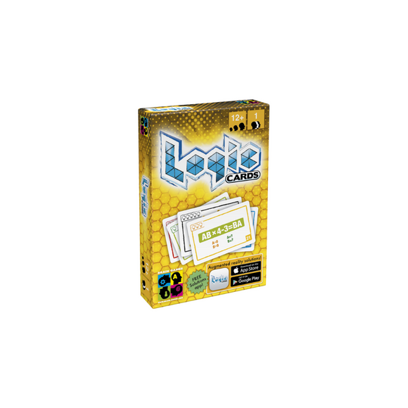 Logic Cards Yellow - Math Brain Teaser Card Game