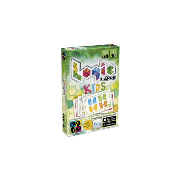 Logic Cards Kids - Math Brain Teaser Card Game