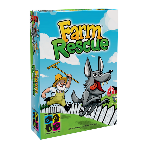 Farm Rescue - Children's Cooperative Memory