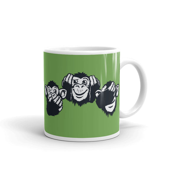 TEAM3 Monkeys | Green | Mug
