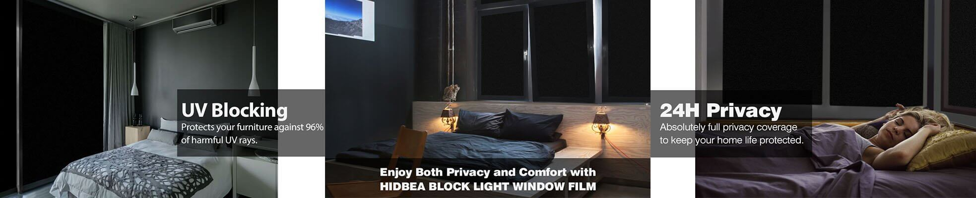 Blackout window film_description