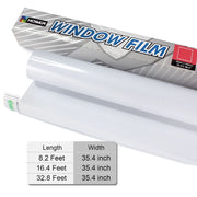 Size of window films