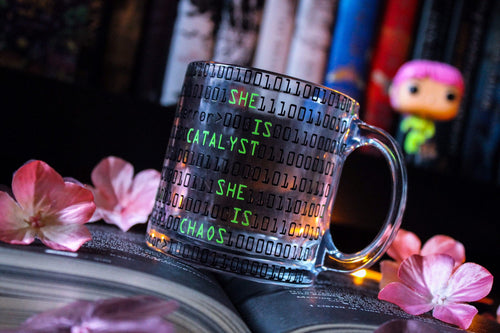 Illuminae Glass Mug