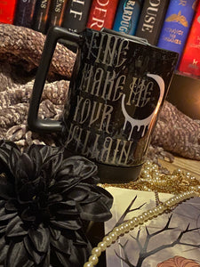 Darkling Travel mug