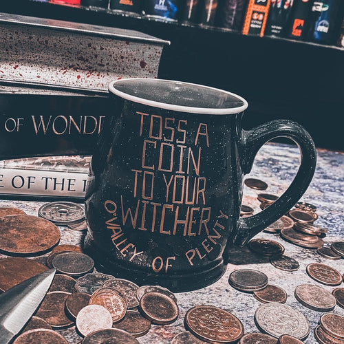 Witcher Mug and Pin