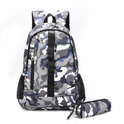 SAC A DOS CAMOUFLAGE GRIS