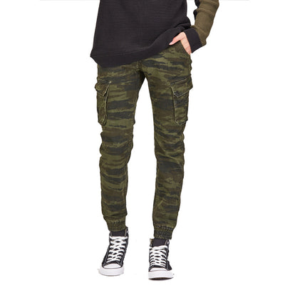 Pantalon Slim Homme Camouflage Jungle