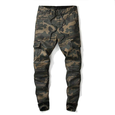 Jean Camouflage Slim Motif Jungle