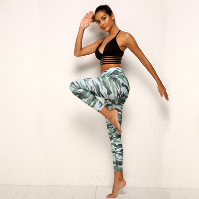 Legging Camouflage Work Out
