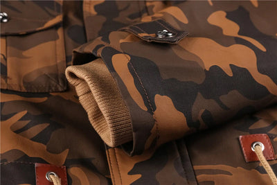 PARKA CAMOUFLAGE MILITAIRE