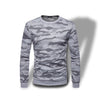 Sweat Camouflage Gris Clair