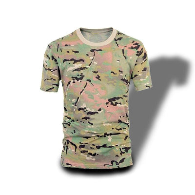 T-shirt Camouflage Multicolore