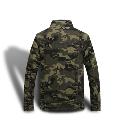 Veste Camouflage Jungle Aviateur Militaire