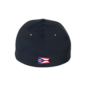 CA13 Navy Performance Stretch Fit Hat