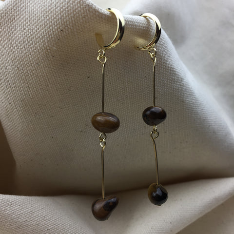 Golden Hour Earrings - Twist Earring
