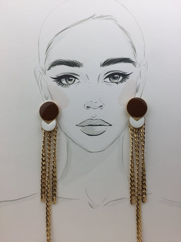 Coco Earrings - Twist Earring