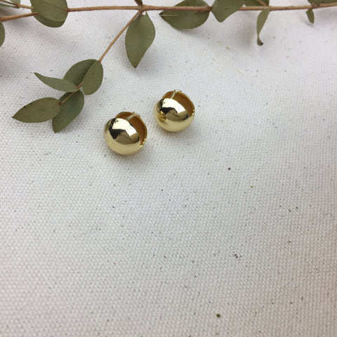 Golden Bell Earrings - Twist Earring