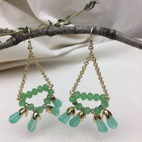 Tassel Garden Earrings - Twist Earring