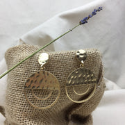 Half Full Earrings - Twist Earring
