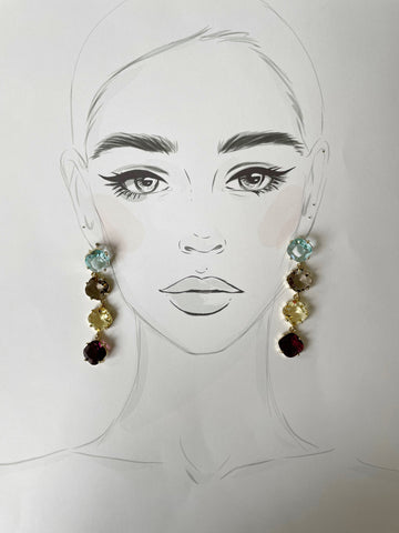 Cristallo Earrings