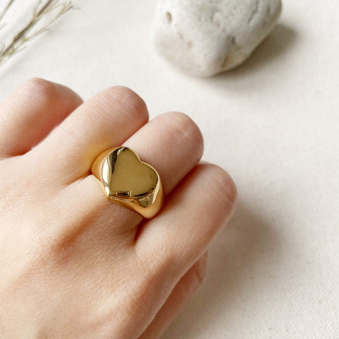 Heart Dome Ring