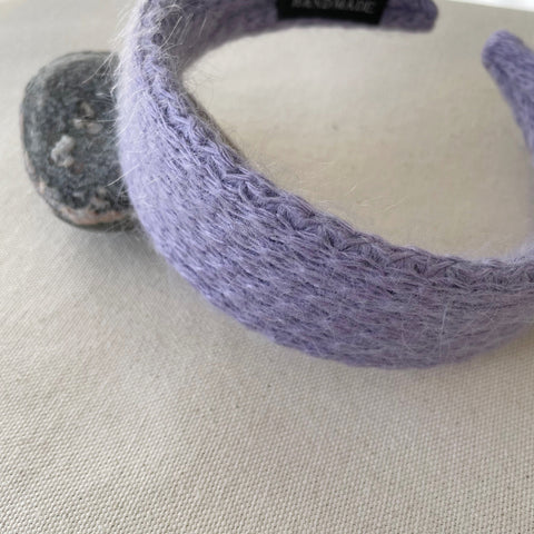 Cotton Candy Headband-Lavender