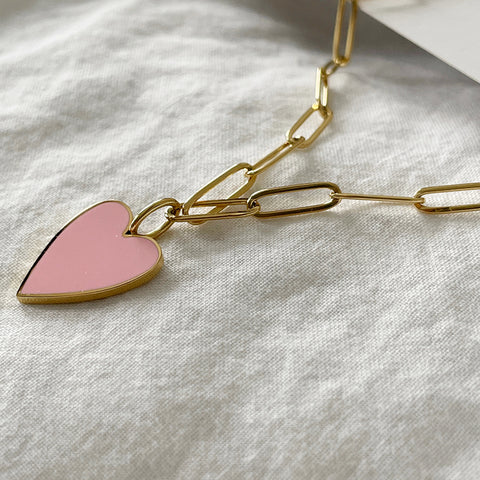 Pink Amour Necklace