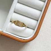 Minimalist Egypt Ring