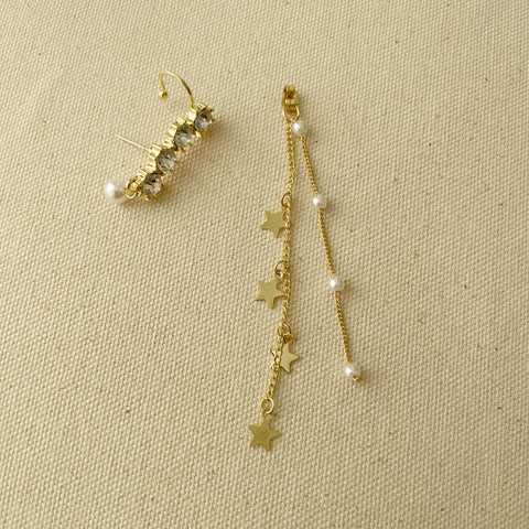 Gold Legend Cuff Earring