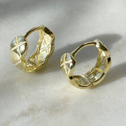 Coco Crush Hoop Earrings-Gold