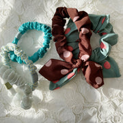 Mixed Five Scrunchie Set