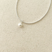 Baby Pearl Bead Chain Bracelet
