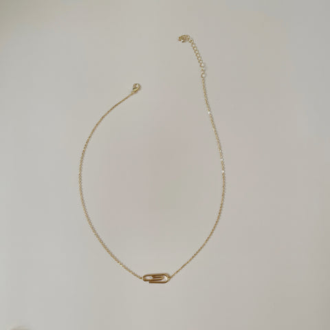 Paper Clip Necklace