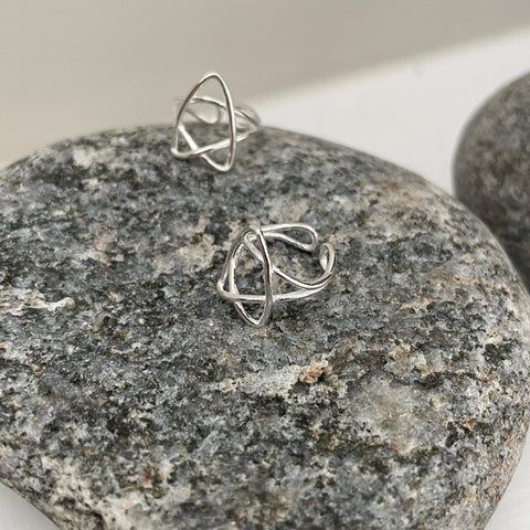 Wired Star Ear Cuff