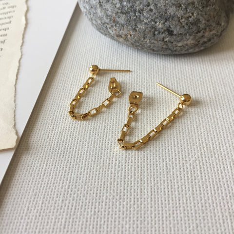 U Link Earrings
