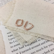 Ellipse Earrings - Twist Earring