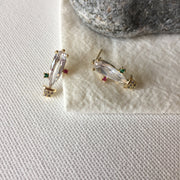 Crystal Cactus Earrings