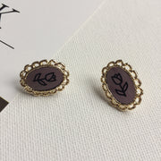 Frame Art Earrings