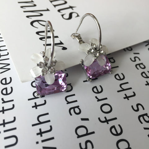 Purple Treasure Earrings