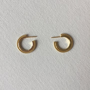 Aussie Hoop Earrings-Gold