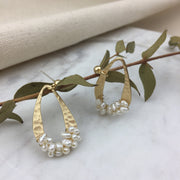 Baby Pearl Wave Earrings - Twist Earring