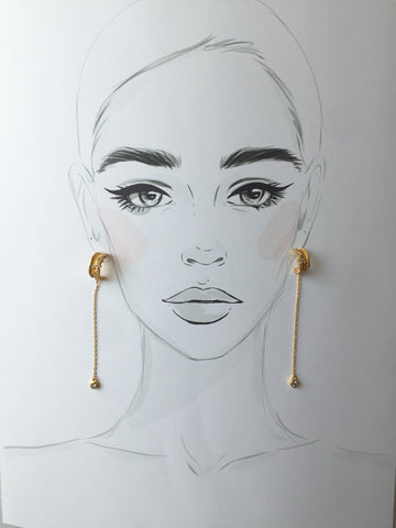 Barela Hoop Earrings - Twist Earring