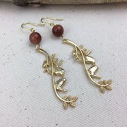Birds of a Feather Earrings - Twist Earring