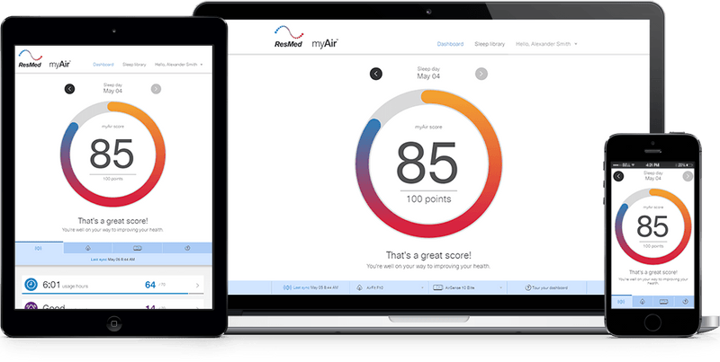 Free ResMed myAir Patient Engagement Platform Linked with High CPAP Adherence