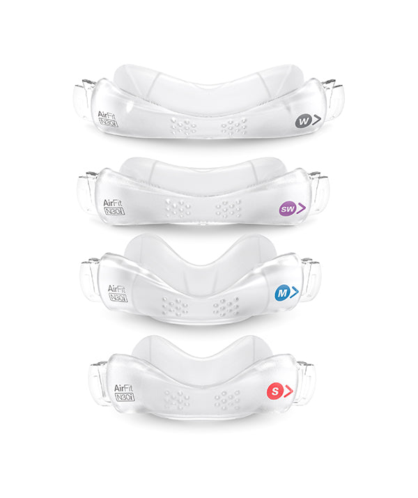 ResMed AirFit N30i Nasal Mask Cushions - Small, Medium, Small-Wide, Wide