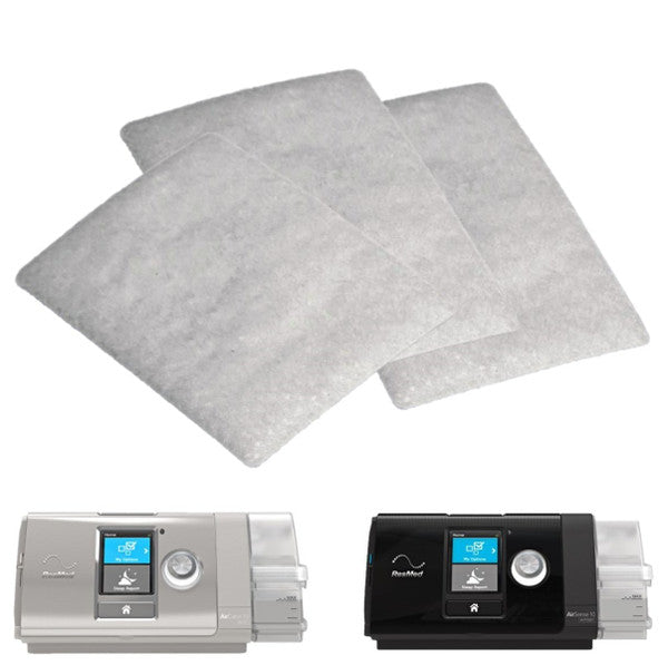 Disposable Standard Filters for AirSense™ 10, AirStart™ 10, AirCurve™ 10, and S9 Series CPAP Machines (6 pack) - Heartstrong Sleep