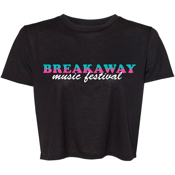 Breakaway Miami Flowy Crop Top